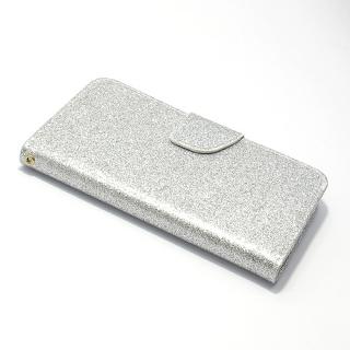 Futrola BI FOLD GLITTER za Samsung G955F Galaxy S8 Plus srebrna