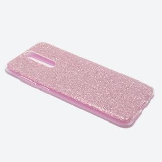 Futrola silikon GLITTER za Huawei Mate 10 Lite roze