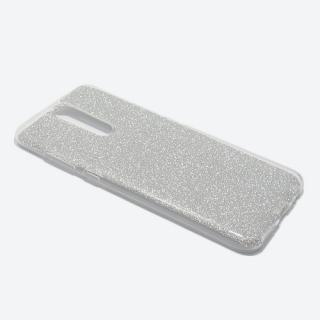 Futrola silikon GLITTER za Huawei Mate 10 Lite srebrna