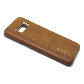 Futrola PIERRE CARDIN PCU-S02 za Samsung G950F Galaxy S8 braon