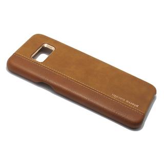 Futrola PIERRE CARDIN PCU-S02 za Samsung G955F Galaxy S8 Plus braon