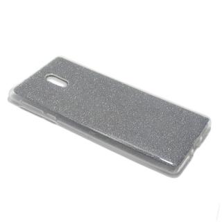 Futrola silikon GLITTER za Nokia 3 siva