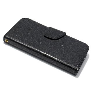 Futrola BI FOLD GLITTER za Iphone 7/ Iphone 8 crna