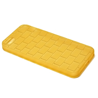 Futrola silikon BRICKS za Iphone 5G/ Iphone 5S/ Iphone SE zlatna