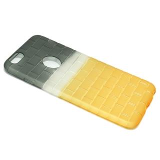Futrola silikon BRICKS za Iphone 6 Plus sivo-zuta