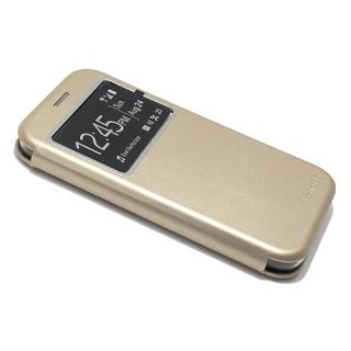 Futrola BI FOLD Ihave sa prozorom za Samsung G950F Galaxy S8 zlatna