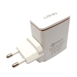 Kucni punjac LDNIO AI301Q USB 9V/2A FAST microUSB beli