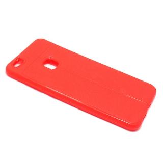 Futrola silikon ELEGANT THIN za Huawei P10 Lite crvena