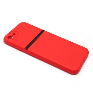 Futrola silikon ELEGANT LINE za Iphone 7/ Iphone 8 crvena
