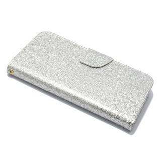 Futrola BI FOLD GLITTER za Nokia 5 srebrna