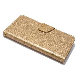 Futrola BI FOLD GLITTER za Nokia 5 zlatna