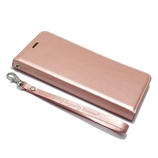 Futrola BI FOLD HANMAN za Samsung G935 Galaxy S7 Edge svetlo roze