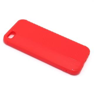 Futrola silikon CARBON LINE za Iphone 5G/ Iphone 5S/ Iphone SE crvena