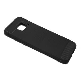 Futrola silikon BRUSHED za Samsung G935 Galaxy S7 Edge crna