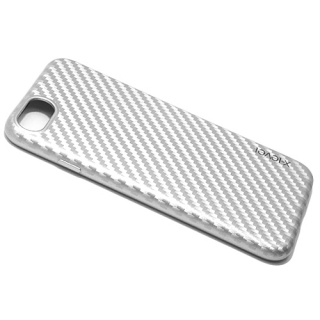 Futrola X-LEVEL Color Fiber za Iphone 7/ Iphone 8 srebrna