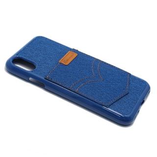 Futrola silikon HANMAN za Iphone X plava