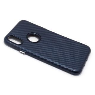 Futrola silikon CARBON za Iphone X teget