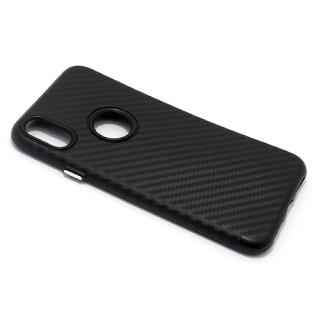 Futrola silikon CARBON za Iphone X crna