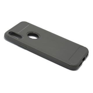Futrola silikon BRUSHED za Iphone X siva