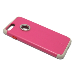 Futrola BASEUS Magnetic Ring za Iphone 7 Plus pink
