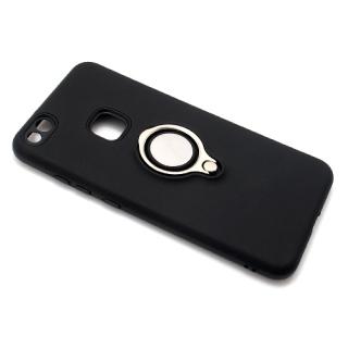 Futrola MAGNETIC RING za Huawei P10 Lite crna