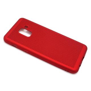 Futrola silikon BREATH za Samsung A530F Galaxy A8 2018 crvena