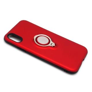 Futrola MAGNETIC RING za Iphone X crvena