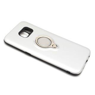 Futrola MAGNETIC RING za Samsung G935 Galaxy S7 Edge srebrna