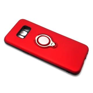 Futrola MAGNETIC RING za Samsung G955F Galaxy S8 Plus crvena