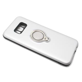 Futrola MAGNETIC RING za Samsung G955F Galaxy S8 Plus srebrna