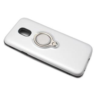 Futrola MAGNETIC RING za Samsung J330F Galaxy J3 2017 (EU) srebrna