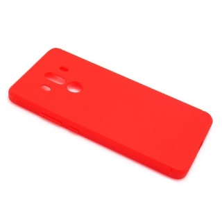 Futrola silikon BRUSHED za Huawei Mate 10 Pro crvena