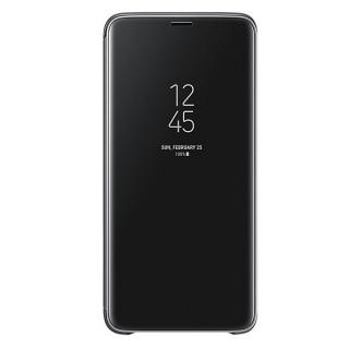 Samsung Galaxy S9 plus Clear View stojeća futrola crna