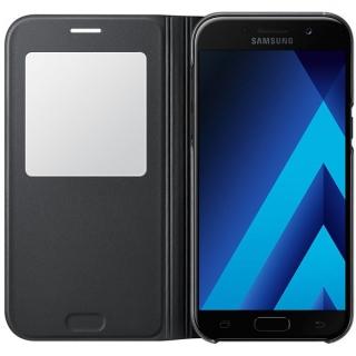 Samsung maska sa preklopom i prozorom A5 2017 crna