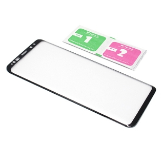 Folija za zastitu ekrana GLASS 3D za Samsung G965F Galaxy S9 Plus zakrivljena crna