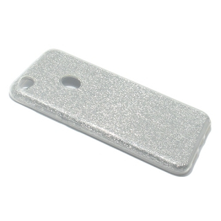 Futrola silikon GLITTER SHOW YOURSELF za Huawei Honor 8 Lite srebrna