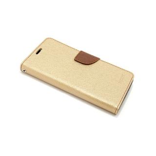 Futrola BI FOLD MERCURY za Samsung A730F Galaxy A8 Plus 2018 zlatna