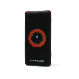 Power bank K106 20000mAh + bezicni punjac (WiFi) crno-srebrni