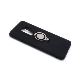 Futrola MAGNETIC RING za Samsung G965F Galaxy S9 Plus crna