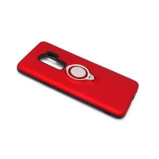 Futrola MAGNETIC RING za Samsung G965F Galaxy S9 Plus crvena