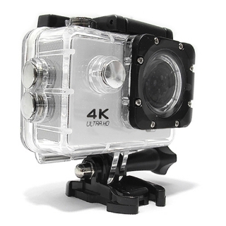 ACTION kamera Comicell 4K Ultra HD Wi-Fi 130 bela