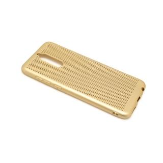 Futrola silikon BREATH za Huawei Mate 10 Lite zlatna
