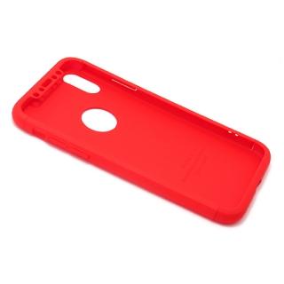 Futrola PVC 360 PROTECT za Iphone X crvena