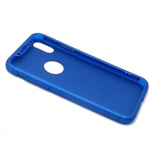 Futrola PVC 360 PROTECT za Iphone X plava