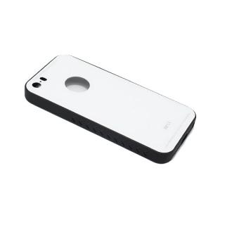 Futrola GLASS za Iphone 5G/5S/SE bela