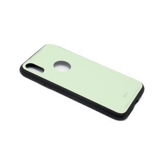 Futrola GLASS za Iphone X/ Iphone XS svetlo zelena