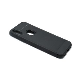 Futrola silikon BRUSHED za Iphone X crna