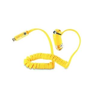 Auto punjac REMAX Cutie RCC-211 USB/2.4A 3in1 za Iphone lightning/micro/Type C USB zuti