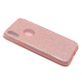 Futrola REMAX Glitter za Iphone X roze