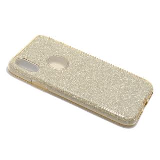 Futrola REMAX Glitter za Iphone X zlatna